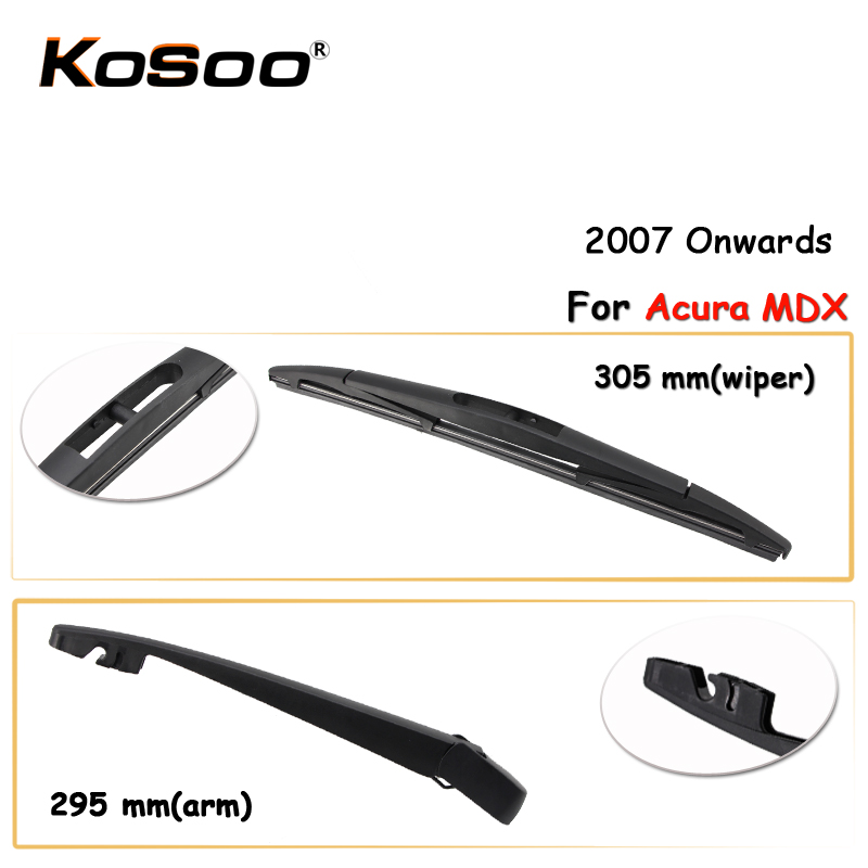 KOSOO Auto Rear Car Wiper Blade For Acura MDX,305mm(2007