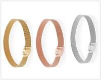 SHINETUNG 1:1 S925 Sterling Silver pandora Bracelet Women's Charm Luxury Jewelry