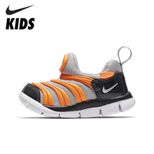 NIKE  Kids DYNAMO FREE Official New Arrival Non Slippery Kid's Sneakers Boys &girls Anti-slippery Running Shoes 343938 цены