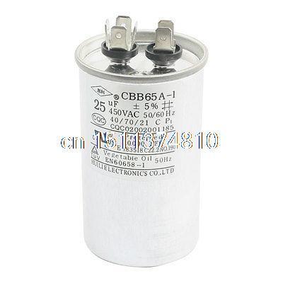 AC 450/V 50//60/Hz 25uf Motor condensador para aire acondicionado