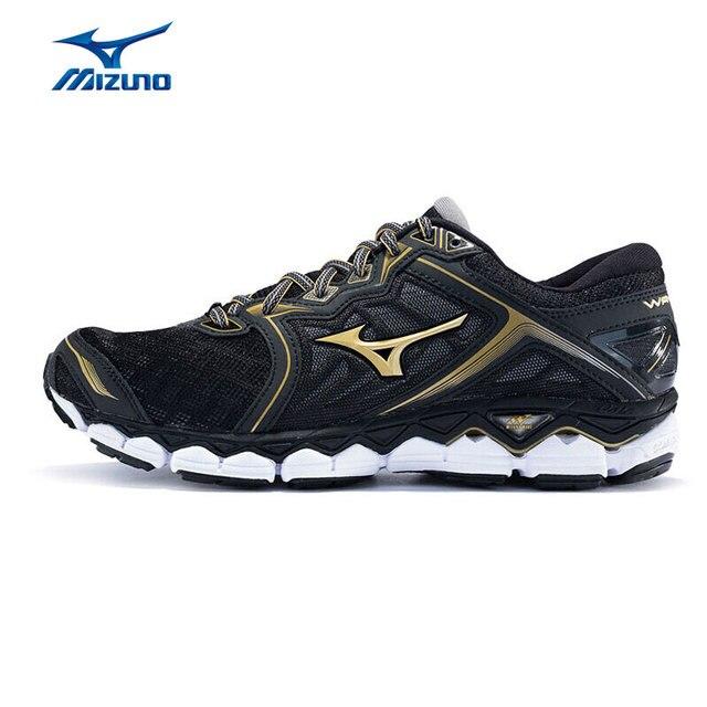 32eb4d3318 Homens MIZUNO WAVE SKY Correndo Jogging Sapatos Respirável Calçado  Desportivo Almofada de Conforto Sneakers J1GC170250 XYP576