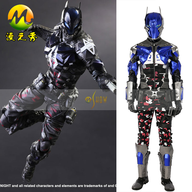 2017 Hot Game Character Batman Arkham Knight Cosplay Costume Halloween costumes for men adult Top Quality & 2017 Hot Game Character Batman Arkham Knight Cosplay Costume ...