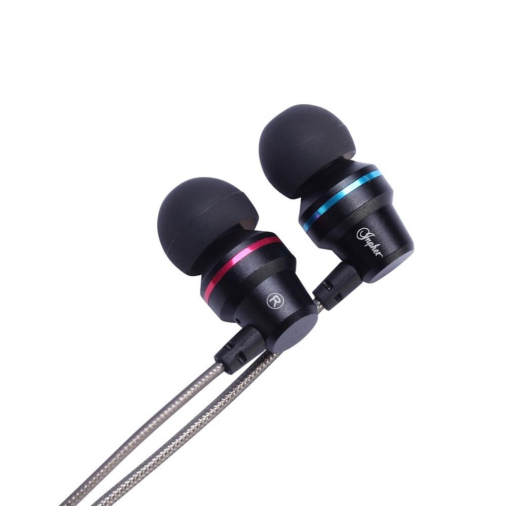 YHP SM X6 Hot Sale original stereo earphone 3 5mm Metal headset In Ear earphone For