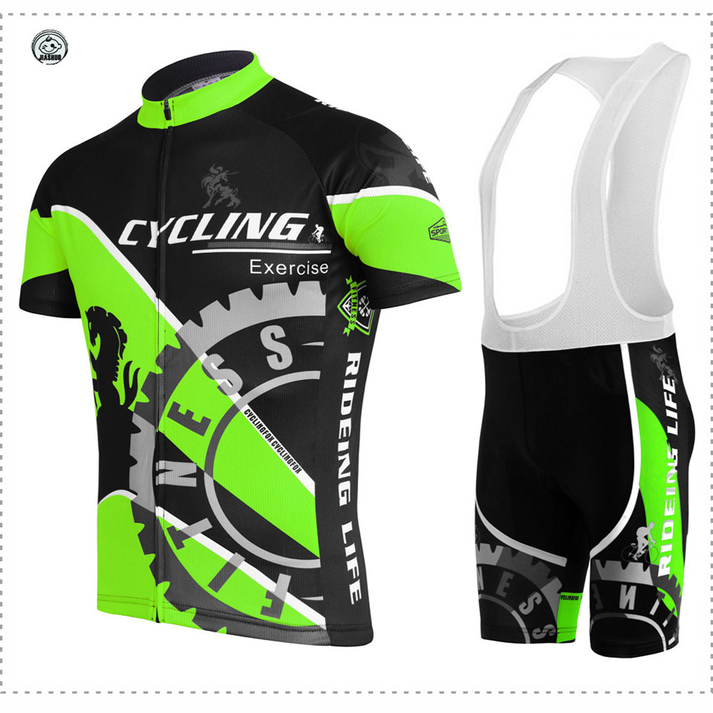 2018 JIASHUO Jersey sets Men short sleeve Summer Cycling jersey MTB New Breathable Bike Riding Wear Racing clothes ropa Ciclismo women cycling jersey sets breathable short sleeve sport wear for mtb bicycle 2017 summer outdoor sport cycling clothes ciclismo