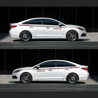 TAIYAO Car Styling Sport Car Sticker For Hyundai Sonata SPORT Mark Levinson Car Accessories And Decals