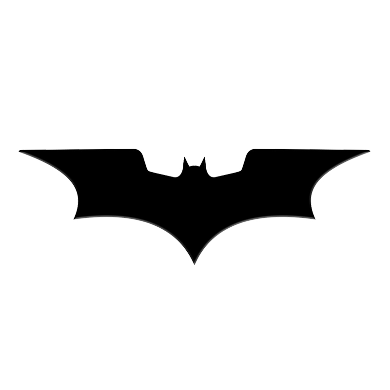 4pcs/lot Batman Sticker Luxury Mobile Phone Laptop DIY Sticker Car Motorcycle Decal 3D Metal Stickers Children Toy Gift