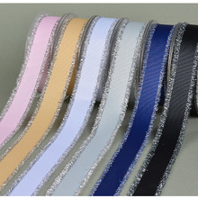 Grosgrain Silver Purl Fringed Edge Ribbon 5/816 mm 125 MM 1-1/2 38 Handmade Wedding DIY Crafts Tape