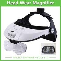 1 0X 1 5X 2 0X 2 5X 3 5X Adjustable Headlamp Magnifying Glass With Light