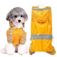 HELLOMOON New Dog clothes four legged raincoat small dog Teddy Kejiji doll puppy puppies summer dress
