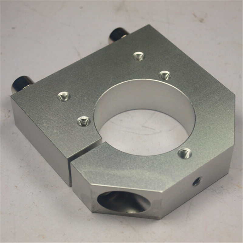CNC milling machine parts ShapeOkO 43 mm spindle mount for Kress aluminum alloy spindle mountCNC milling machine parts ShapeOkO 43 mm spindle mount for Kress aluminum alloy spindle mount