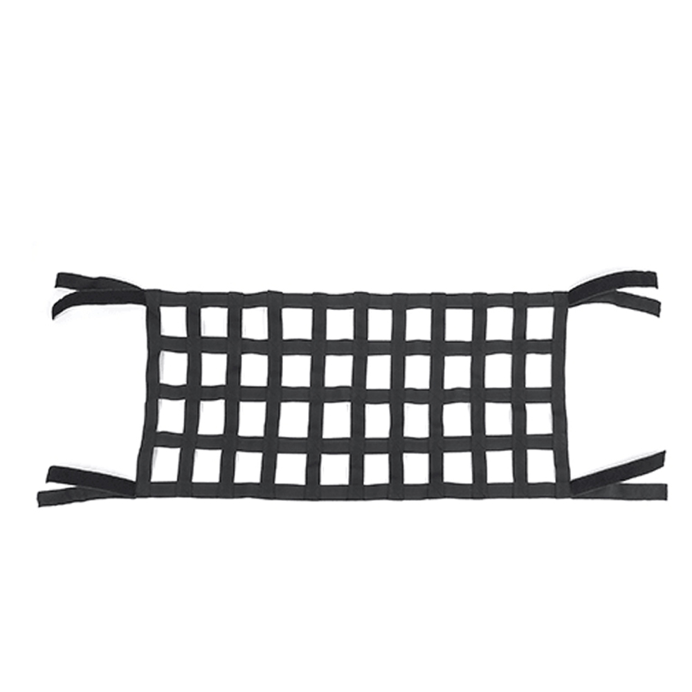 Image 3 - Black Heavy Duty Cargo Net Cover For Jeep Wrangler TJ JK 07 18 Multifunctional Top Roof Storage Hammock Bed Rest Network Cover-in Rear Racks & Accessories from Automobiles & Motorcycles
