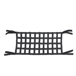 Image 3 - Black Heavy Duty Cargo Net Cover For Jeep Wrangler TJ JK 07 18 Multifunctional Top Roof Storage Hammock Bed Rest Network Cover