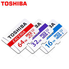Genuine TOSHIBA Memory card micro sd Card 16GB 32G 64GB 128GB Class10 UHS-1 48MB/S for phone tablet DVR + adapter retail package