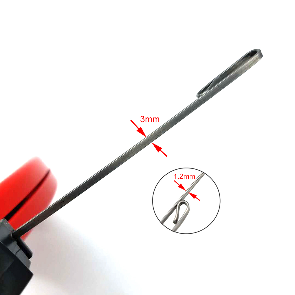 Pipe Wrie Cable Puller Expert 30m Spring Steel Fish Tape with High Impact Case great for Long Run and Heavy Duty Wire Puller in Cable Ties from Home Improvement