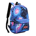 2017 Universe Stars Printing Backpack Women Space Galaxy Graffiti Rucksack for Teenage Girls School Bags Large mochila XA23H