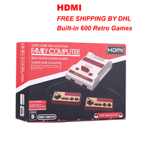 New HDMI AV Free Built In 600 Retro Classic Games Video Game Console Dual Controllers 8
