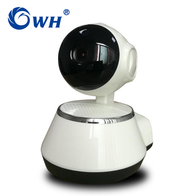 CWH 1.0MP WIFI IP P2P Camera with 1280*720 Resolution CCTV Wireless Camera with SD Card Recording Smart Phone Remote View