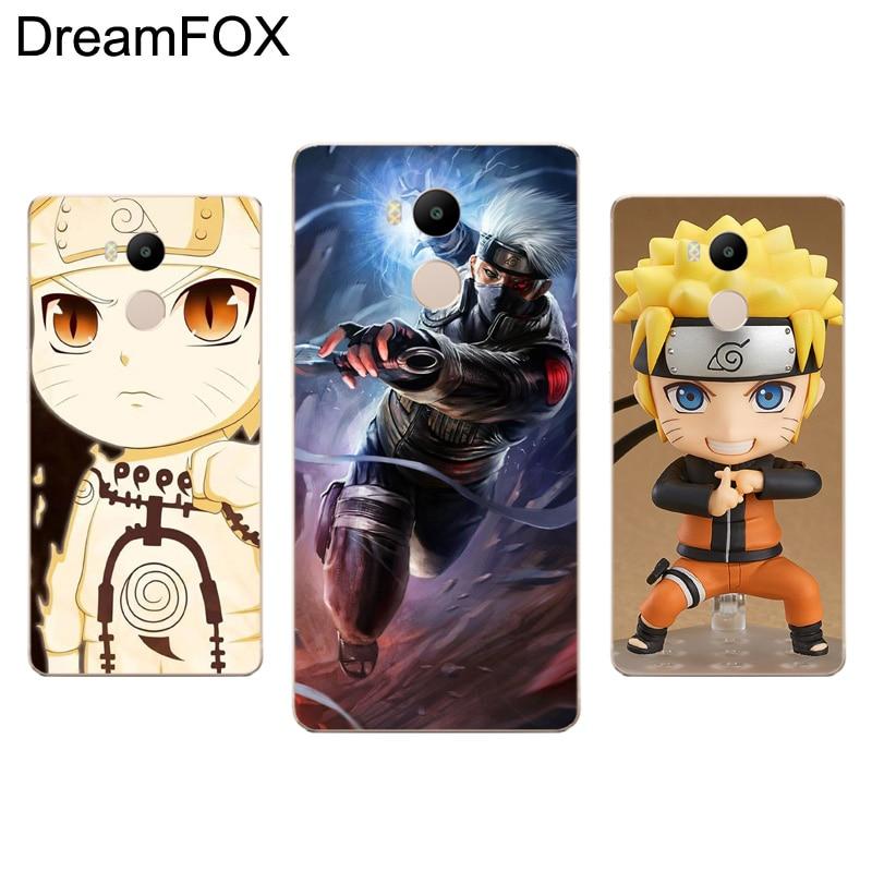DREAMFOX L106 Anime Naruto Vs Sasuke Soft TPU Silicone Case Cover For Xiaomi Redmi Note 3 4 5 Plus 3S 4A 4X 5A Pro Global