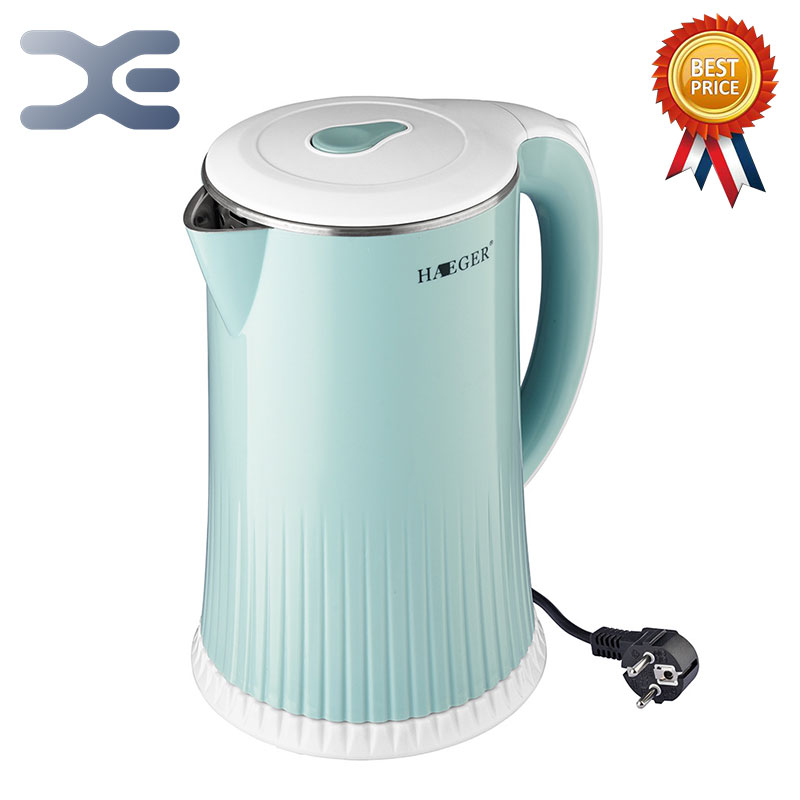 2.5L Water Kettle Stainless Steel Handheld Instant Heating Electric Water Kettle Auto Power-off Protection Wired Kettle HG-71882.5L Water Kettle Stainless Steel Handheld Instant Heating Electric Water Kettle Auto Power-off Protection Wired Kettle HG-7188
