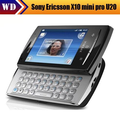 Цена за U20i Sony X10 mini pro U20 сотовый телефон Android 3 г сенсорный экран GPS WIFI 5 мп камерой бесплатная доставка