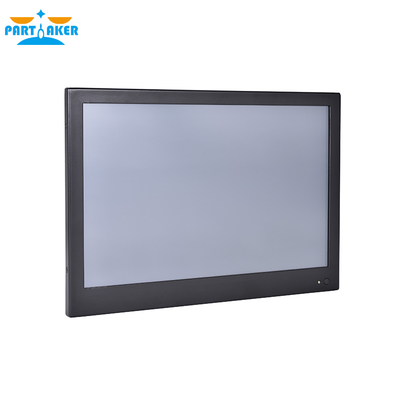 13.3 Inch Industrial Touch Panel PC All in One Computer 4 Wire Resistive Touch Screen with Windows 7/10,Linux Intel J1900 3