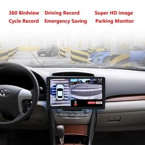 Image 2 - 1080P Super HD 360 Degree Surround Bird View System Panoramic View Car Cameras 4 CH DVR Recorder with G sensor DVR Quad core CPU