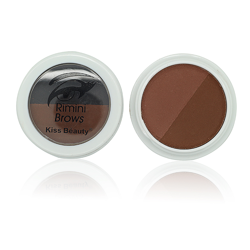 2 Color Eyebrow Makeup Waterproof Long-lasting Eyebrow Enhancer Powder Natural Brown Bronzer Eye Shadow Make Up Palette Brand