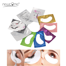 100PCS Under Eye Pads Patch Set Eyelash Extensions Lint Free Natural Hydrogel Gel for Extension Lash