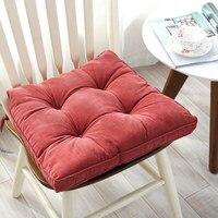 Quadrado grosso cadeira de assento almofada grande tamanho cadeira de escritório sentado almofada colchão multiuso assento de chão almofada de colchão Almofada     -