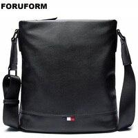 2018 New Arrival Fashion Business Leather Men Messenger Bags Promotional Small Crossbody Shoulder Bag Casual Man Bag LI 2176