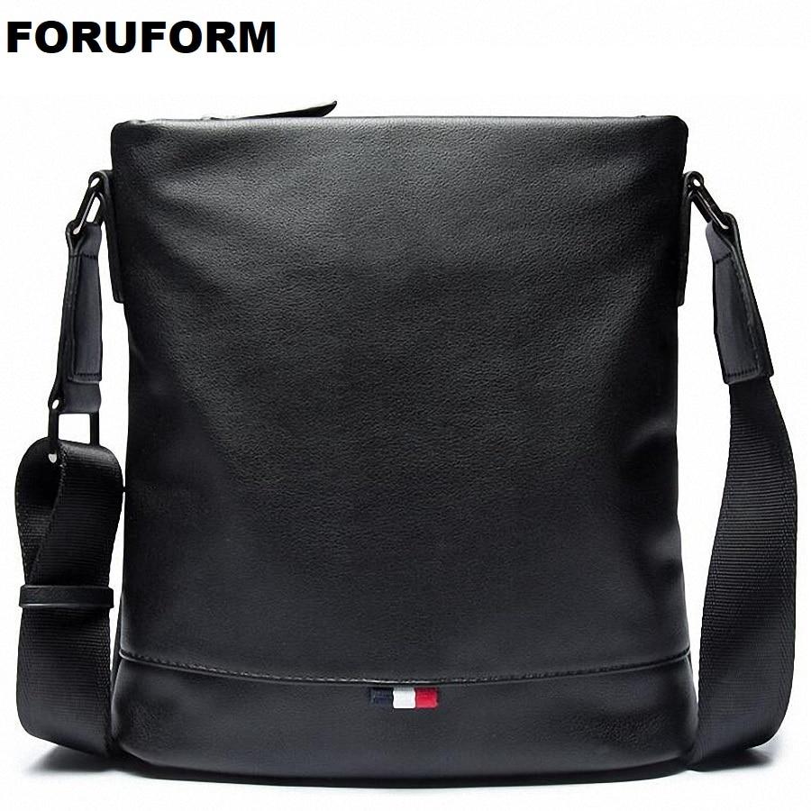2018 New Arrival Fashion Business Leather Men Messenger Bags Promotional Small Crossbody Shoulder Bag Casual Man Bag LI-2176