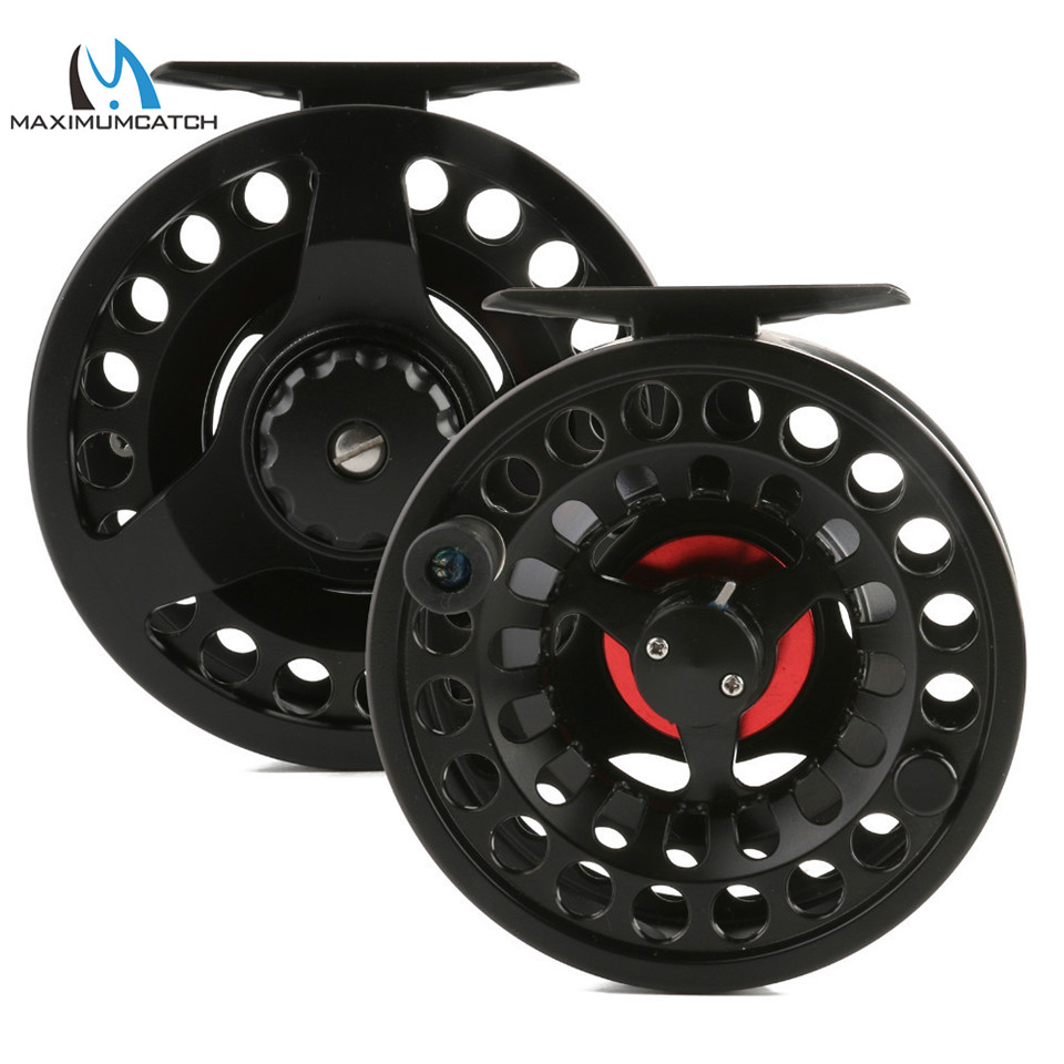 Maximumcatch DM 3/4/5/6/7/8/9/10wt Fly Reel Large Arbor Best Grade 6061 T6 Aluminum Fly Fishing Reel maximumcatch hvc 7 8 weight exclusive super light fly reel chinese cnc fly fishing reel large arbor aluminum fly reel