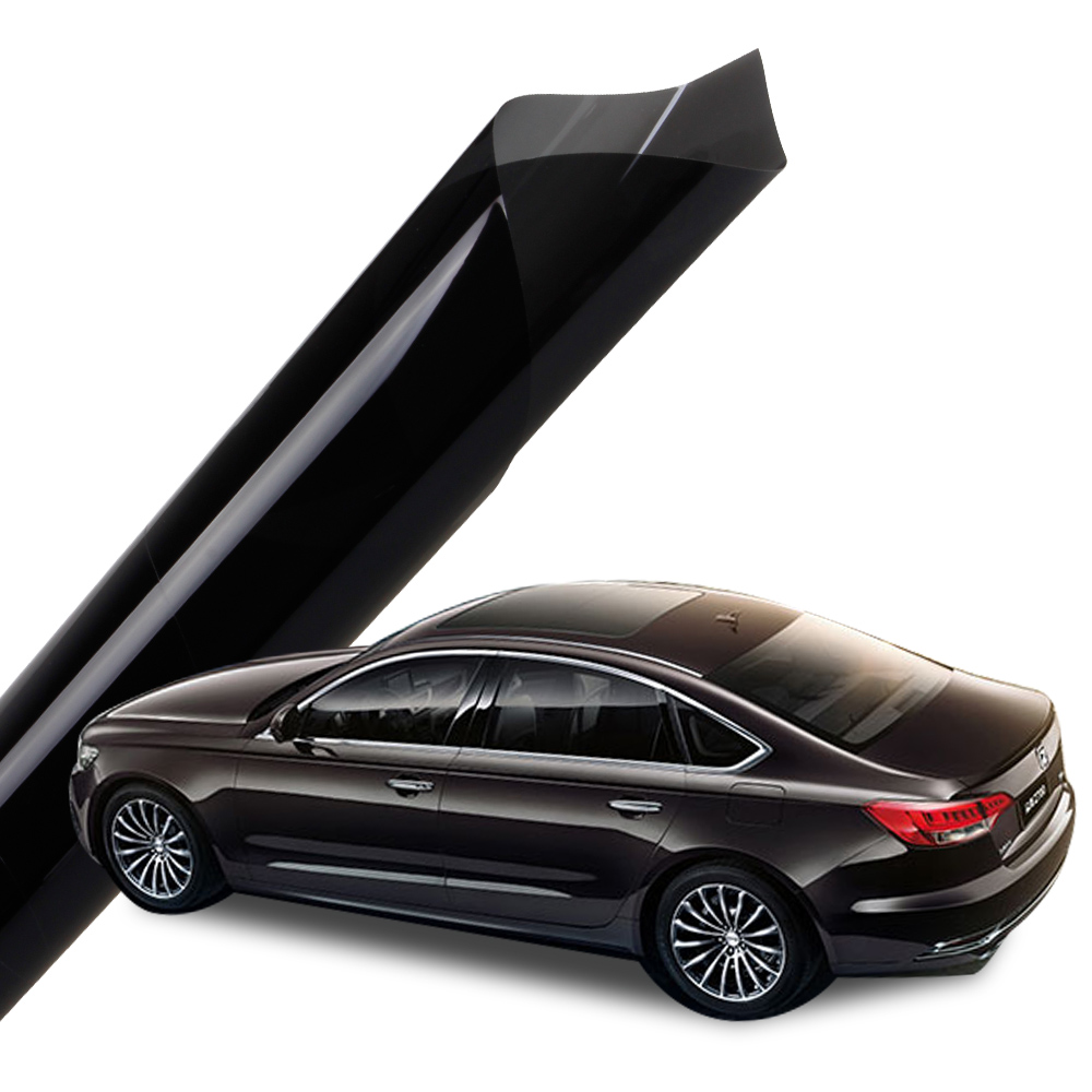 Black Color With 99 Ir Rejection Nano Ceramic Tinting Film Car