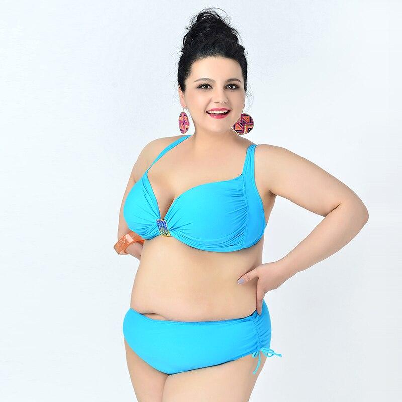 Full size bikini woman