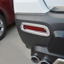 Автомобиль tyling крышка детектор ABS Chrome лампы задний хвост противотуманных фар отделкой рамки литье для Chevrolet Trax 2014 2015 2016 2 шт