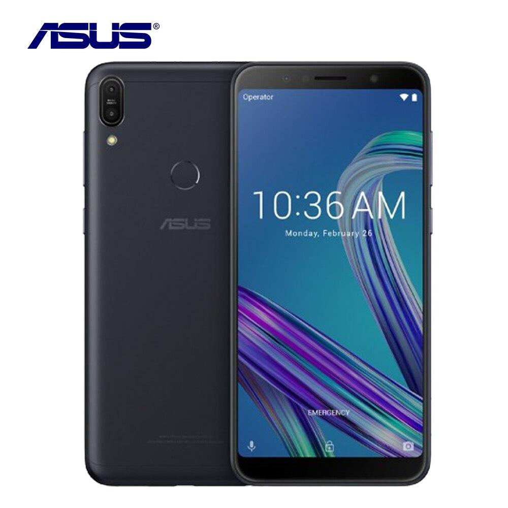 D'origine Asus ZenFone Max Pro M1 ZB602KL 6g RAM 64g ROM Smartphone 6.0 Octa Core 16MP Android 8.1 5000 mah LTE Téléphone Portable À Puce