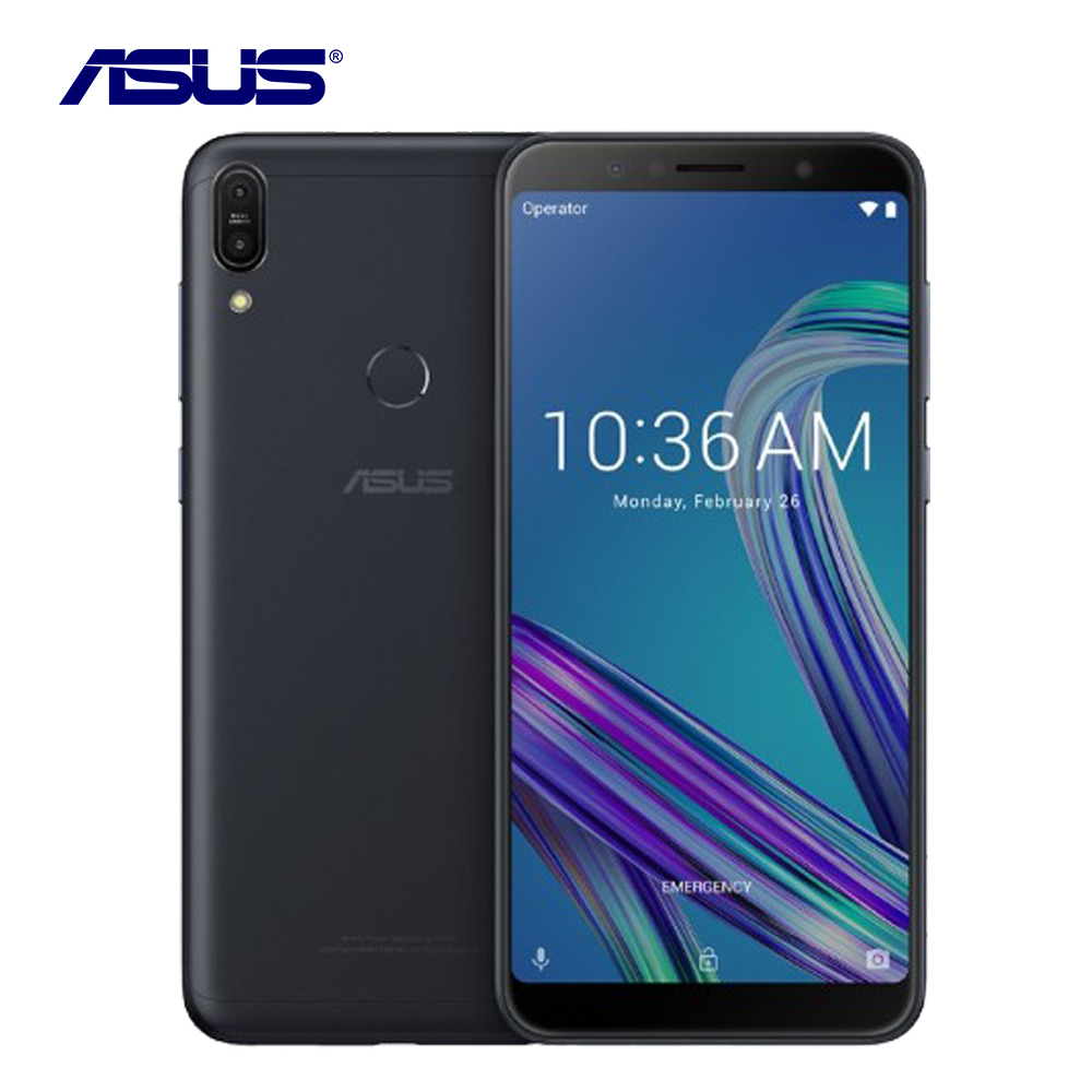"Original Asus ZenFone Max Pro M1 ZB602KL 6G RAM 64G ROM Smartphone 6.0"" Octa Core 16MP Android 8.1 5000mAh LTE Smart Cell Phone"