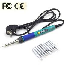 CXG 936d LED Digital Temperatura Costante Regolabile Professionale Saldatore Elettrico ferro 220V 110V 60W di rilavorazione di Saldatura Strumento