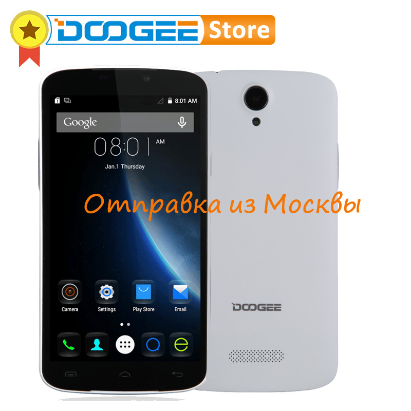 Original DOOGEE X6 PRO MTK6735 Quad Core 2GB RAM 16GB ROM 5.5 inch HD Screen Android 5.1 Smartphone with GPS WIFI 4G FDD-LTE