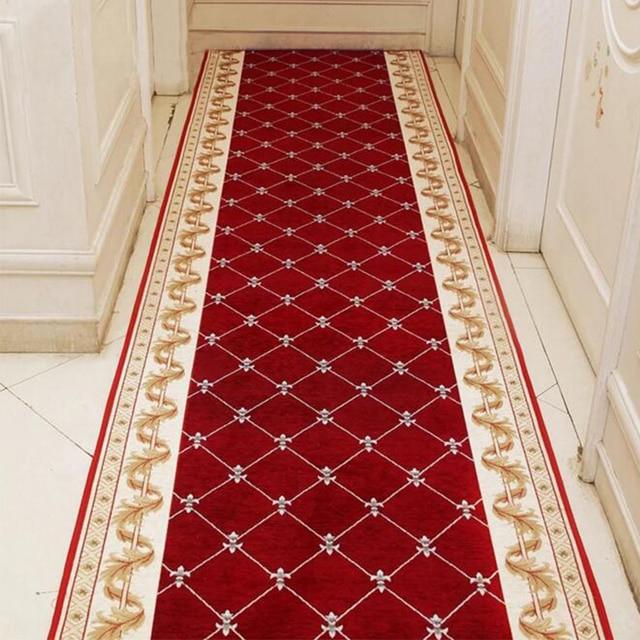 Custom Made Hallway Carpeteuropean Style Carpet Mechanical Washable Area Rugs Colourful Floor Mats Home Decor