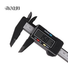 Cheap price MOQIU Car 6 inch 150mm Caliper Digital Electronic Carbon Fiber Composite Vernier Caliper Ruler Measuring Tools