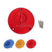 Petrol Tank Fuel Gas Cap CNC Keyless Fit For Ducati 748 851 888 916 996 998