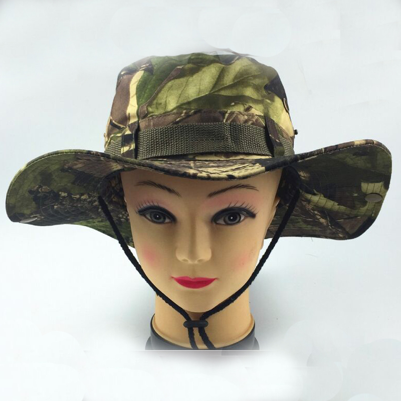 camo Boonie Hats for women men bridal cowboy hat fishing Nepalese Cap  Military Army American Military Accessories Hiking -in Bridal Headwear from  Weddings ... 9d57344d3fee