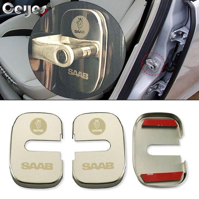 Ceye قفل الباب يغطي اكسسوارات السيارات التصميم الحال بالنسبة ساب 9000 900 428 03 10 9 3 9 5 93 95 2003 2012 ملصقات حماية السيارات