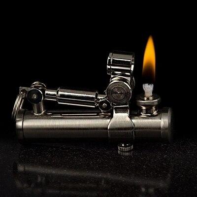 DUKE Genuino personalità creativa unico olio più leggero del cherosene benzina sigaretta accendino regalo regalo-in Accessori per sigarette da Casa e giardino su  Gruppo 3