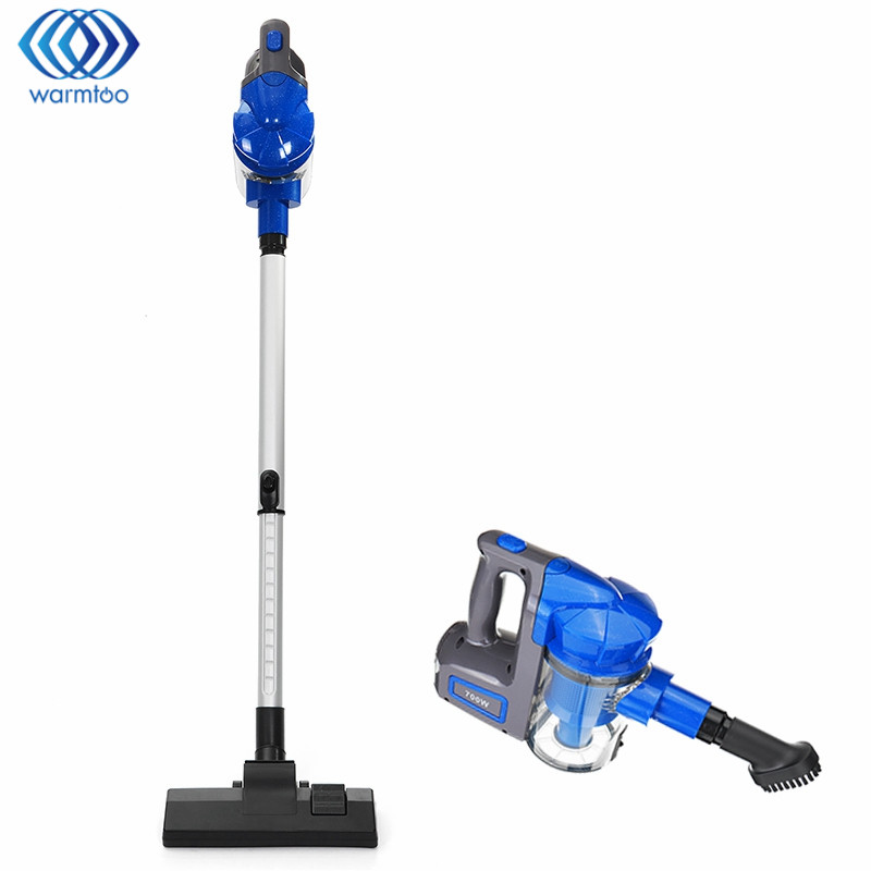 купить Handheld Vacuum Cleaner Upright Stick and Handy Dust Collector Low Noise Removal Mites Home Portable Household Aspirator 220V недорого