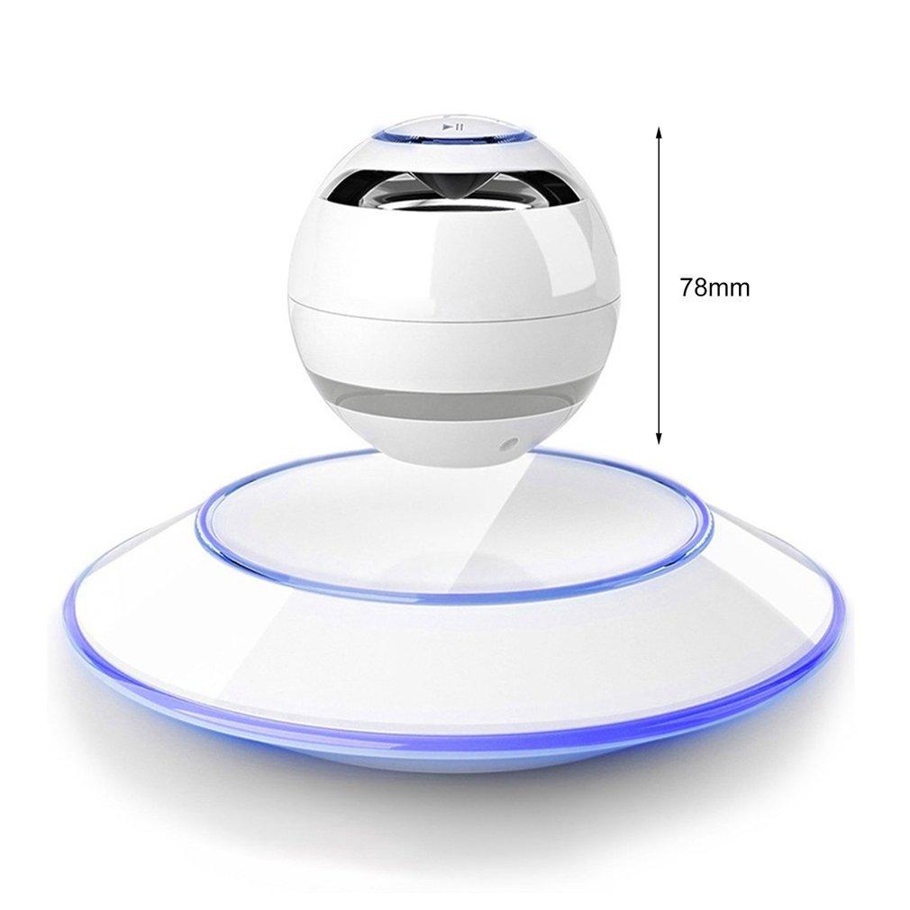 HIFI Portable wireless Bluetooth Speaker Stereo Soundbar Magnetic Suspension Levitation Wireless Subwoofer Column Speakers ufo maglev bluetooth speakers wireless stereo rotating 360 degree colorful luminous speakers magnetic levitation sound