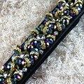 Nueva venta directa de alto grado del Rhinestone cristal cinturón calidad brillante accesorios de vestir de negro, venta al por mayor