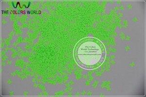 Image 5 - TCT 146 蝶ネオン Color3MM 耐溶剤性グリッターネイルアートネイルジェルポリッシュメイク Facepaint マニュアル DIY 工芸品の装飾