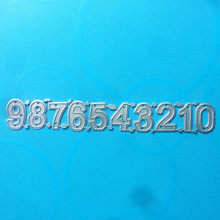 1652 POP UP NUMBERS Metal Cutting Dies For Scrapbooking Stencils DIY Album Cards Decoration Embossing Folder CRAFT Die Cuts CUT(China)